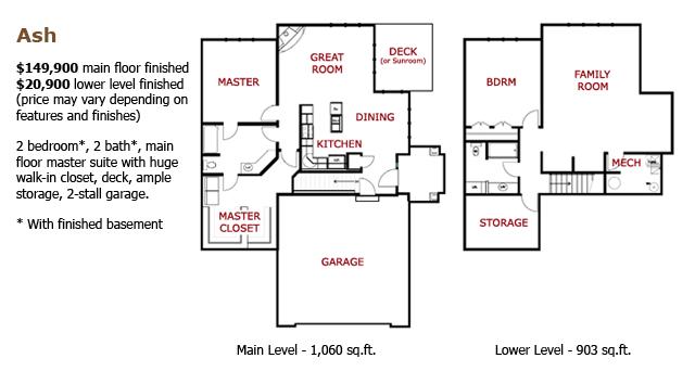 The Ash Floorplan