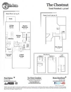Chestnut - SF floor plans 2016